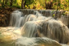 Tat Guangxi waterfall, Luang Prabang, Laos. Stock Image