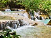 Tat Kuang Si Falls, Luang Prabang, Laos Royalty Free Stock Photos