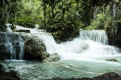 Tat Kuang Si Waterfall Arkivfoton