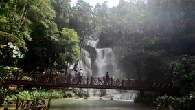 Tat Kuang Si waterfall Royalty Free Stock Photo