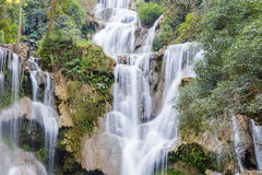 Tat Kuang Si Waterfalls in Laos Stock Photography