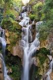 Tat Kuang Si Waterfalls at Luang Prabang, Laos Royalty Free Stock Images