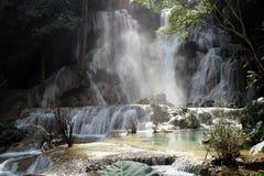 Tat Kuang Si Waterfalls luang prabang Royalty Free Stock Image