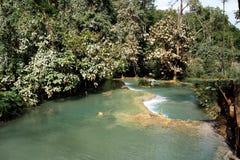 Tat Kuang Si Waterfalls luang prabang Royalty Free Stock Images