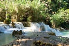 Tat Kuang Xi Waterfall Luang Prabang Immagini Stock
