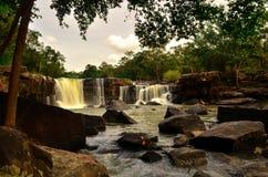 Tat Ton Waterfall Imagen de archivo libre de regalías