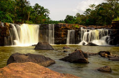 Tat Ton Waterfall Fotos de archivo