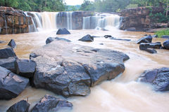 Tat ton waterfall, Chaiyaphum Thailand Stock Photography