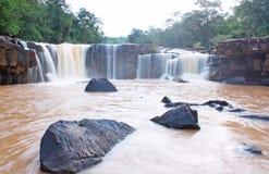 Tat ton waterfall, Chaiyaphum Thailand Royalty Free Stock Photo