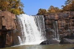 Tat Ton waterfall, Tat Ton National Park. Chaiyaphum, Thailand Royalty Free Stock Photography
