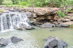 Tat Ton Waterfall in Thailand Stock Photography