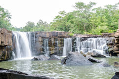 Tat Ton Waterfall in Thailand Stock Image