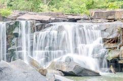 Tat Ton Waterfall in Thailand Stock Photo