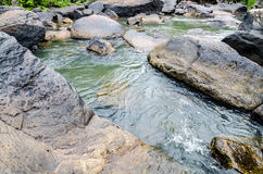 Tat Ton Waterfall in Thailand Royalty Free Stock Photography