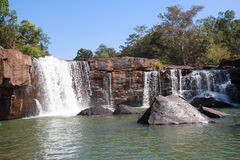 Tat Ton-waterval, Tat Ton National Park Chaiyaphum, Thailand Stock Afbeeldingen