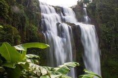 Tat Yuang waterfall Stock Image