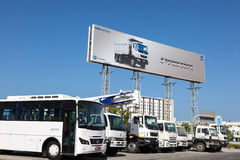 Tata αντιπρόσωπος μηχανών Muscat, Ομάν Στοκ εικόνα με δικαίωμα ελεύθερης χρήσης