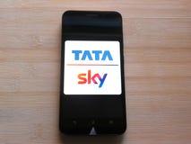 Tata ουρανός στοκ φωτογραφία με δικαίωμα ελεύθερης χρήσης