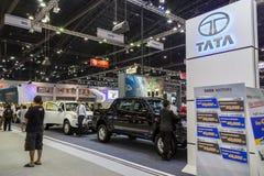 TATA-auto bij de Internationale Motor Expo 2016 van Thailand Royalty-vrije Stock Foto
