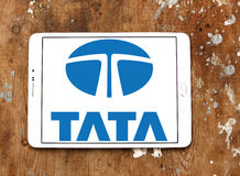 Tata-autoembleem Royalty-vrije Stock Fotografie