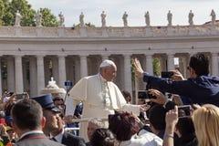 Tata Francesco, Bergoglio - Zdjęcie Stock