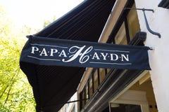 Tata Haydn NW 23rd Portlandzki Oregon Obraz Royalty Free