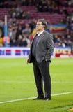 Tata Martino av FCet Barcelona Arkivbilder