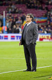 Tata Martino of FC Barcelona Stock Images