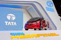 Tata Megapixel concept car Stock Photos