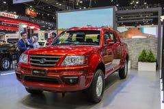 TATA samochód przy Tajlandia zawody międzynarodowi silnika expo 2016 Zdjęcia Royalty Free