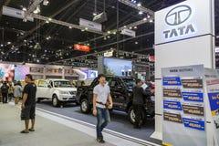 TATA samochód przy Tajlandia zawody międzynarodowi silnika expo 2016 Zdjęcie Stock