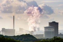 Tata Steel production facility at Port Talbot Royalty Free Stock Image