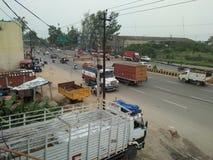 Tata-vrachtwagen royalty-vrije stock afbeeldingen