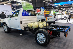 Tata Xenon CNG revealed system inside Stock Photography