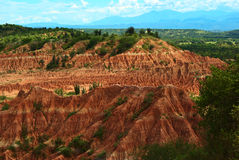 Tatacoa Desert in Southern Colombia Royalty Free Stock Image