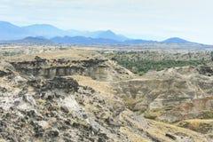 Tatacoa pustynia zdjęcie royalty free