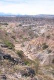 Tatacoa pustynia fotografia royalty free
