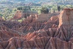 Tatacoa pustynia Kolumbia obrazy stock