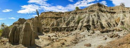 Tatacoa Wüste, Kolumbien Stockbilder