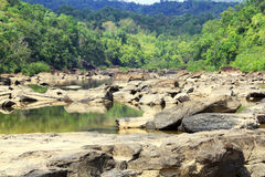 Tatai-Wasserfälle in Kambodscha Stockbilder