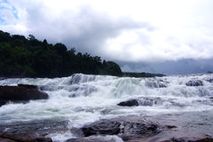 Tatai waterfall. Koh Kong, Cambodia Royalty Free Stock Image