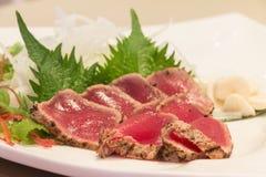 Tataki frais de maguro image stock
