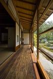 ?Tatami? e ?Shoji? la vecchia stanza giapponese. fotografia stock libera da diritti