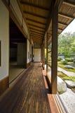 tatami för japan lokalshoji Arkivbilder