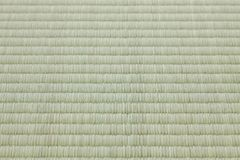 Tatami mat, flooring materieal in traditional Japanese style rooms Stock Photography