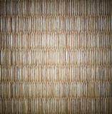 Tatami Mat of Japan with Vignette Royalty Free Stock Photography