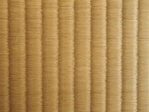 Tatami mat, Japanese floor. Royalty Free Stock Images