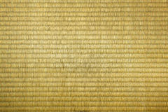 Tatami mat texture. Close up of tatami mat texture Royalty Free Stock Images