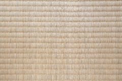 Tatami Mat. Top view of Tatami Mat background texture Royalty Free Stock Images
