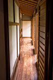 Tatami and Shoji the old Japanese room. Royalty Free Stock Image